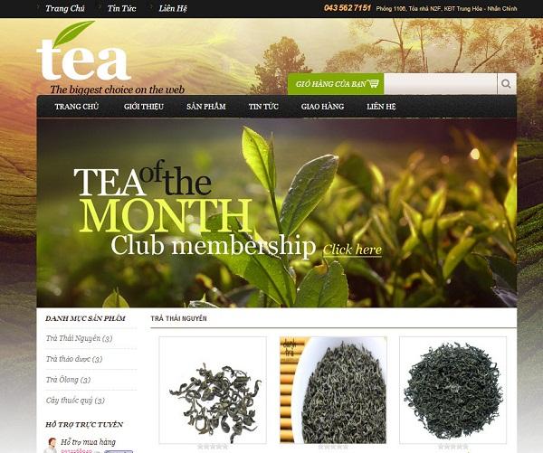[S070] Cửa hàng đặc sản trà tươi !
