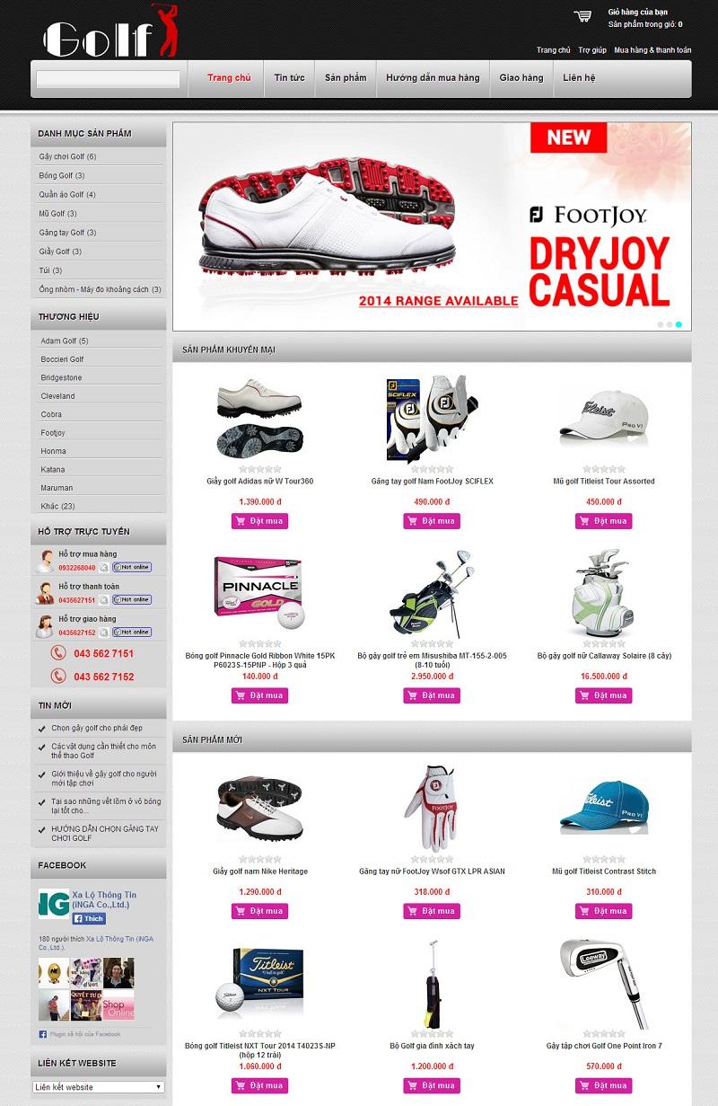 [s082] Shop golf nhập khẩu !